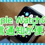 Apple Watchの着信通知が気になる!どんな機能なのか